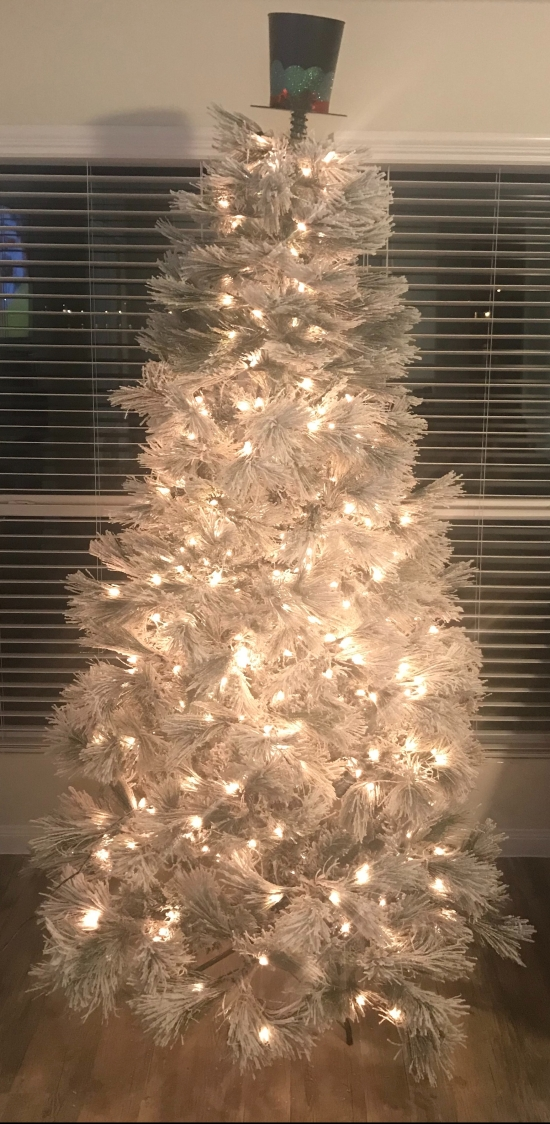 My Christmas Tree without Ornaments