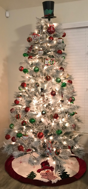 My Christmas Tree with Ornaments