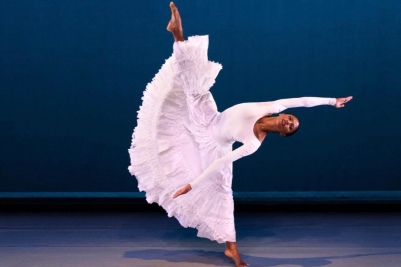 An Alvin Ailey Dancer