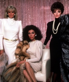 Diahann Carroll as Dominique Deveraux on the show Dynasty